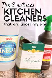 how to clean a white kitchen sink natural kid safe kitchen cleaners