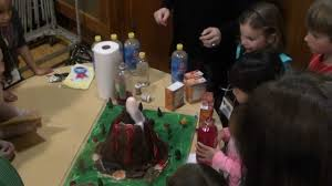 science fair volcano project youtube