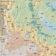 Climate Zones For Gardening - climate zones arizona gardens plants and full sun garden