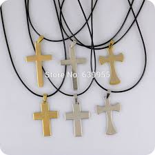 religious jewelry stores 6pcs bible lord s prayer cross stainless steel pendant