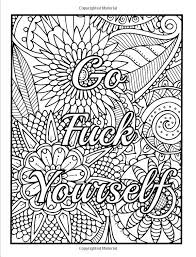 309 best swear word coloring pages images on pinterest