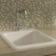 Eljer Salerno BarPrep Sink With  Faucet Holes Product Detail - Eljer kitchen sinks