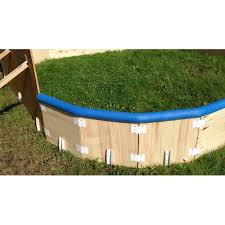 Backyard Ice Rink Brackets Sleek Rink Round Kit 8 Brackets