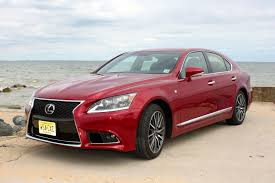 red lexus 2013 lexus ls 460 f sport review