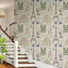 destudio u0027famous places of france u0027 peel and stick wallpaper self
