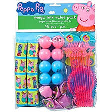 peppa pig party american greetings peppa pig party favor pack toys