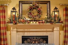 Christmas Decorations For Fireplace Mantel 30 Amazing Fall Decorating Ideas For Your Fireplace Mantel