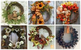 fall wreath ideas 15 fabulous fall wreath ideas garden club