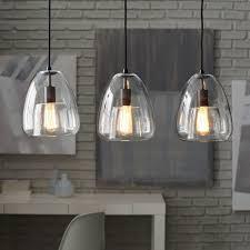 Walled Chandelier 3 Light