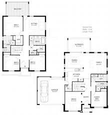 Modern House Design Plans Pdf by Home Plan Modern Double Story House Plans Homes Zone House Plans
