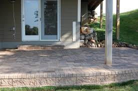 Raised Paver Patio Paver Patios And Walks