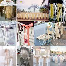 chair ribbons alternative to chair sashes wedding forum you your wedding