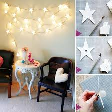 Christmas Decoration Star Lights by Learn How To Make A Star Light Garland Find Fun Art Projects To