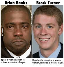 Prison Rape Meme - brian banks brock turner spent 5 years in prison for plead guilty