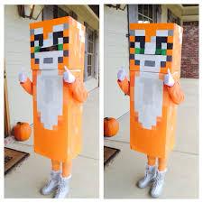 Minecraft Halloween Costumes Stampylongnose Halloween Costume Diy Stampy Cat Halloween