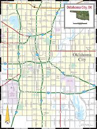zip code map okc maps update tourist attractions map in oklahoma city map