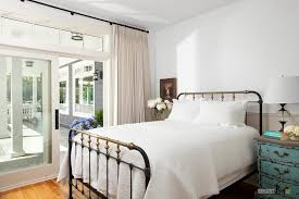 Big Sliding Windows Decorating Small Vintage Bderoom Ideas With Big Bed And Wooden Drawers Also
