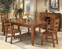 Intercon Solid Rubberwood Dining Table Scottsdale INSCTAB - Rubberwood kitchen table
