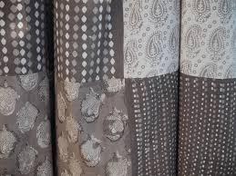Tissus Pour Nappe Nappe Beige Taupe Réalisée Avec 4 Tissus Motifs Différents