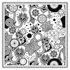 magic garden fantastic flowers coloring book for adults color
