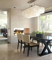 modern dining room fixture table chandeliers contemporary crystal