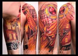 biagio s gallery tattoos nature firefighter