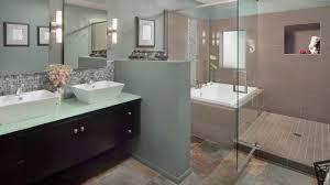 home shower ideas faucet circle unique natural stone top mount