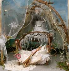 oh to be a sleepy fairy u2026 fairy bedroom fairies and miniature