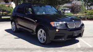 bmw x3 2012 vs 2013 2012 bmw x3 xdrive 35i with m sport package for sale in langley