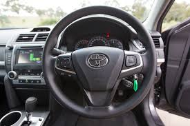 toyota steering wheel 2015 toyota camry altise review practical motoring