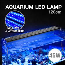 Aquarium Led Light Aqua Aquarium Fish Tank Led Light 46w White Blue Moonlight 10 000k