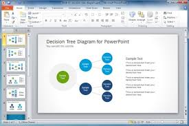attractive templates for ppt simple decision tree diagram for powerpoint slidemodel