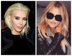 kim kardashian goes platinum blonde u2014 is she stealing khloé u0027s