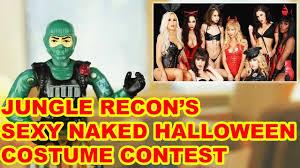 halloween costume contest youtube