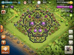 pin by clashit on clash of clans base pinterest video games