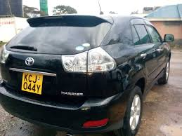 used 2010 toyota harrier 240g l package limited cba acu30w for