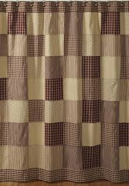 Country Rustic Curtains Vhc Primitive Country Rustic Cheston Shower Curtain Vhc
