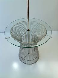 lamp table designed by warren platner for knoll at 1stdibs
