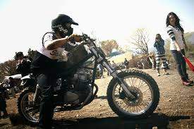 not sure why you u0027d turn a honda rebel into a dirt bike but it u0027s
