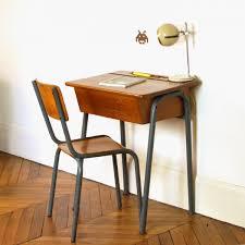 bureau ecolier 1 place bureau enfant vintage