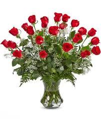2 dozen roses 2 dozen roses in a vase in glendale ca honey bee flowers