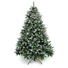 artificial tree 6 7 foot tree with pine cone decoration