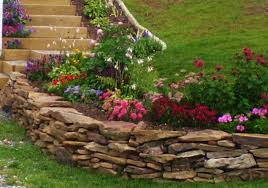 Rock Garden Wall Rock Wall Landscaping Ideas Design And Ideas