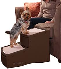 amazon com pet gear easy step ii pet stairs 2 step for cats and