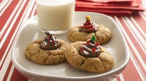 christmas peanut butter blossoms recipe bettycrocker com