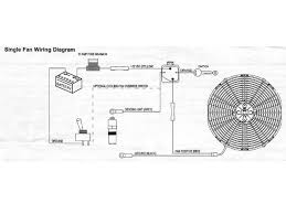 auto electric fan wiring diagram wiring diagram