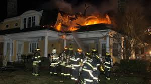 North Bay Fire Hall Ny by Multiple Long Island Fire Departments Battle Mill Neck House Blaze
