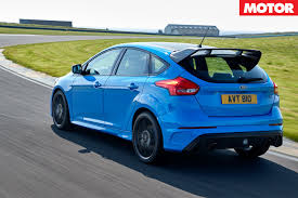 ford focus rs limited edition confirmed for oz motor