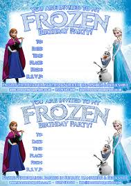 free frozen downloads u2013 printable party invitations colouring
