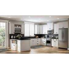 assembled 36x34 5x24 in base kitchen cabinet in hton bay shaker assembled 36x34 5x24 in sink base kitchen